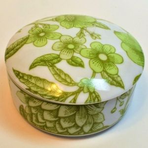 Tiffany and Co. Porcelain Trinket Box